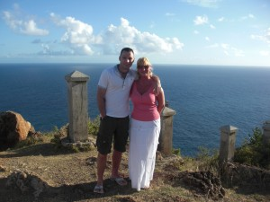 Chris & Diane at the Lookout