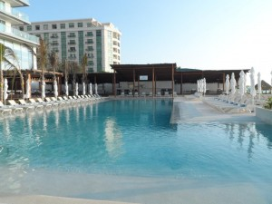 One of the main pool areas at Secrets The Vine