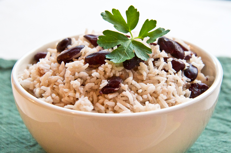 rice and peas 2