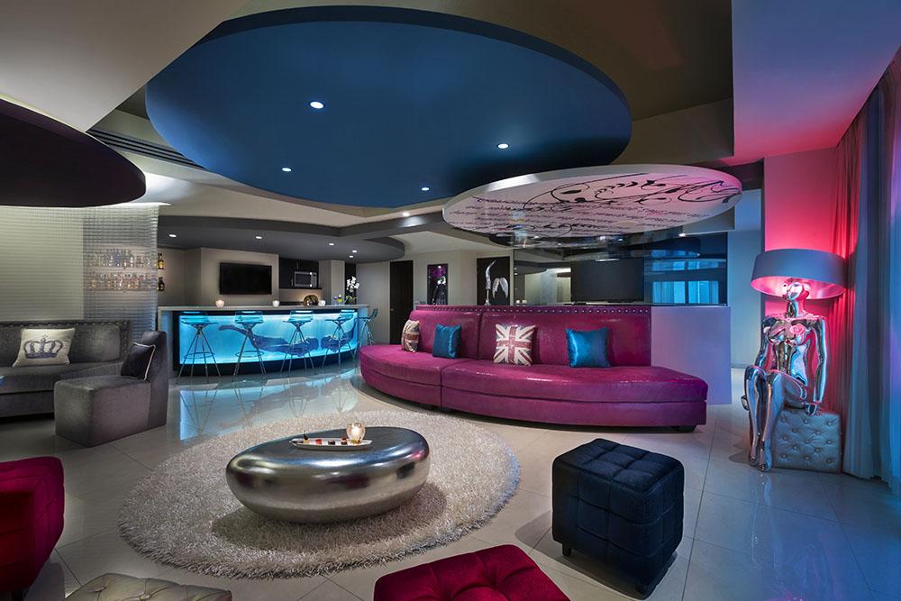 Hard Rock Hotel Vallarta Rock Star Suite Lounge