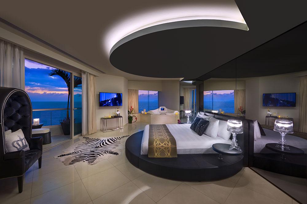 Hard Rock Hotel Vallarta Rock Star Suite Bedroom