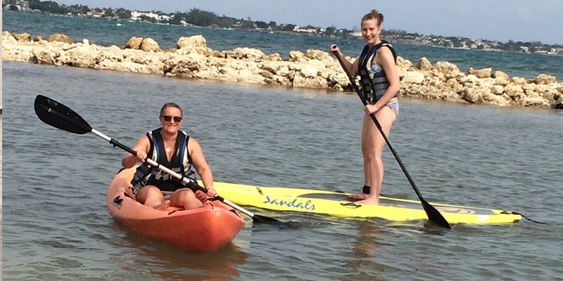 The paddle board master!