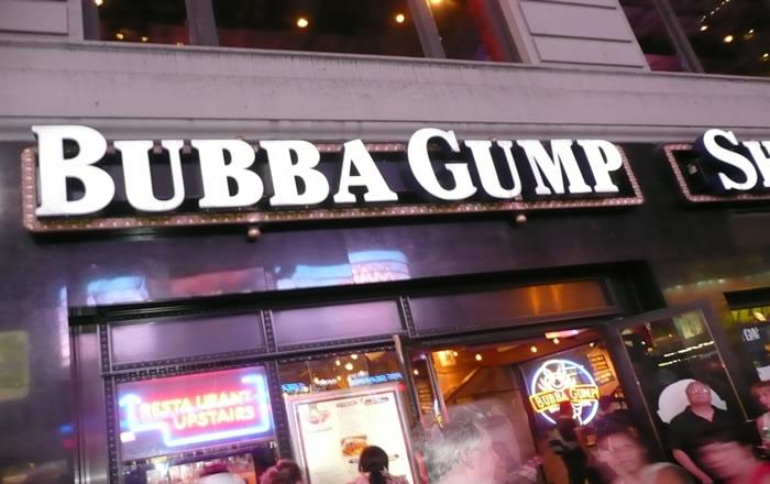 Infamous Bubba Gump Shrimp Restaurant
