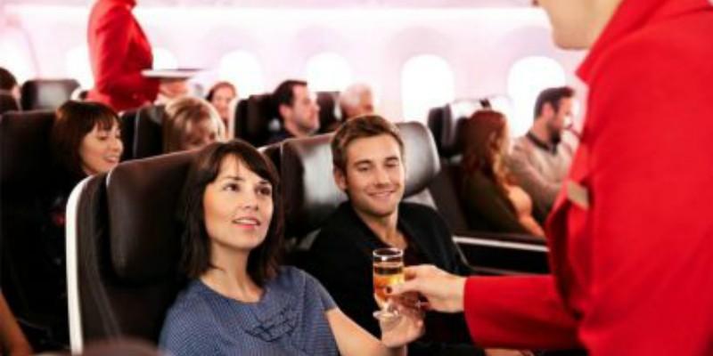 Virgin Premium Flights with Caribbean Warehouse