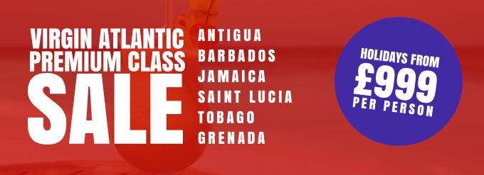 Virgin Premium Flights Sale with Caribbean Warehouse