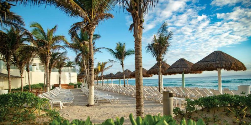 Now Emerald Resort in Cancun, Mexico