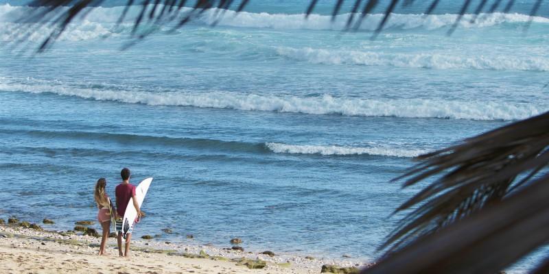 Bathsheba Beach Barbados with Caribbean Warehouse