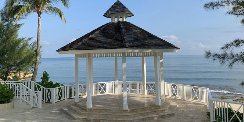 Hyatt Ziva Jamaica Wedding Gazebo
