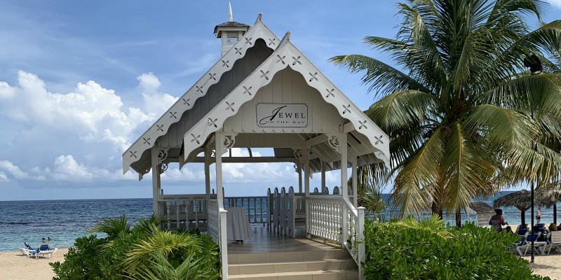 Jewel Runaway Bay Jamaica Wedding Gazebo