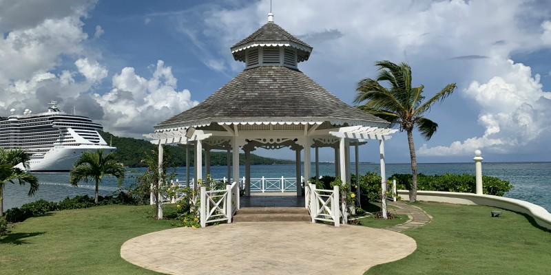 Moon Palace South Beach Jamaica Wedding Gazebo