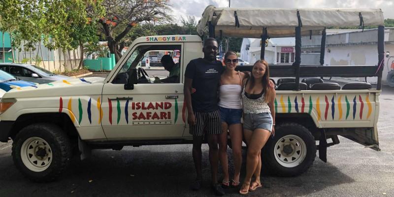 Steph Barbados Island Safari