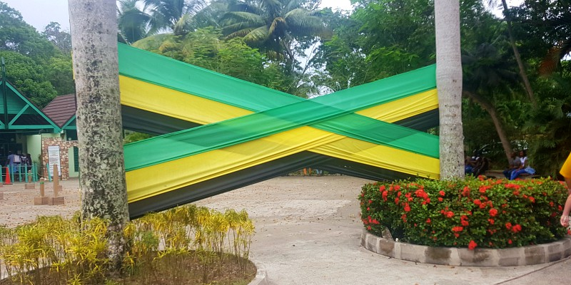 Jamaica banner flag