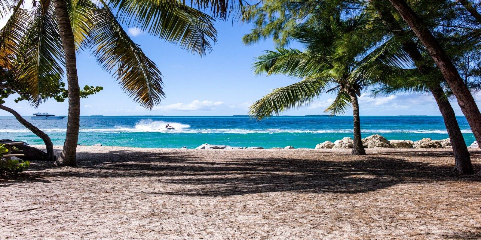 Price plunge beach shot