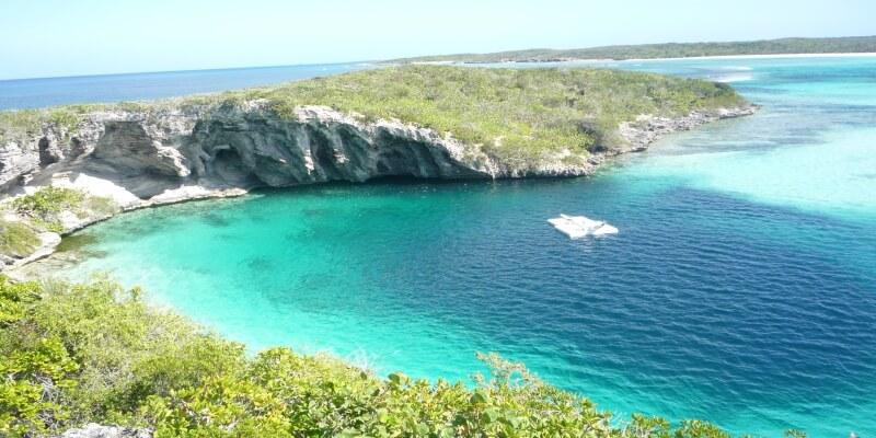 Deans Blue Hole, Bahamas
