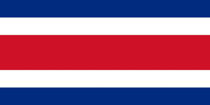 Can you name this blue, white and red horizontal striped flag of a Caribbean nation?