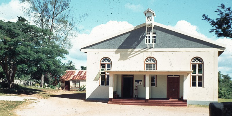 How many churches are there in Jamaica