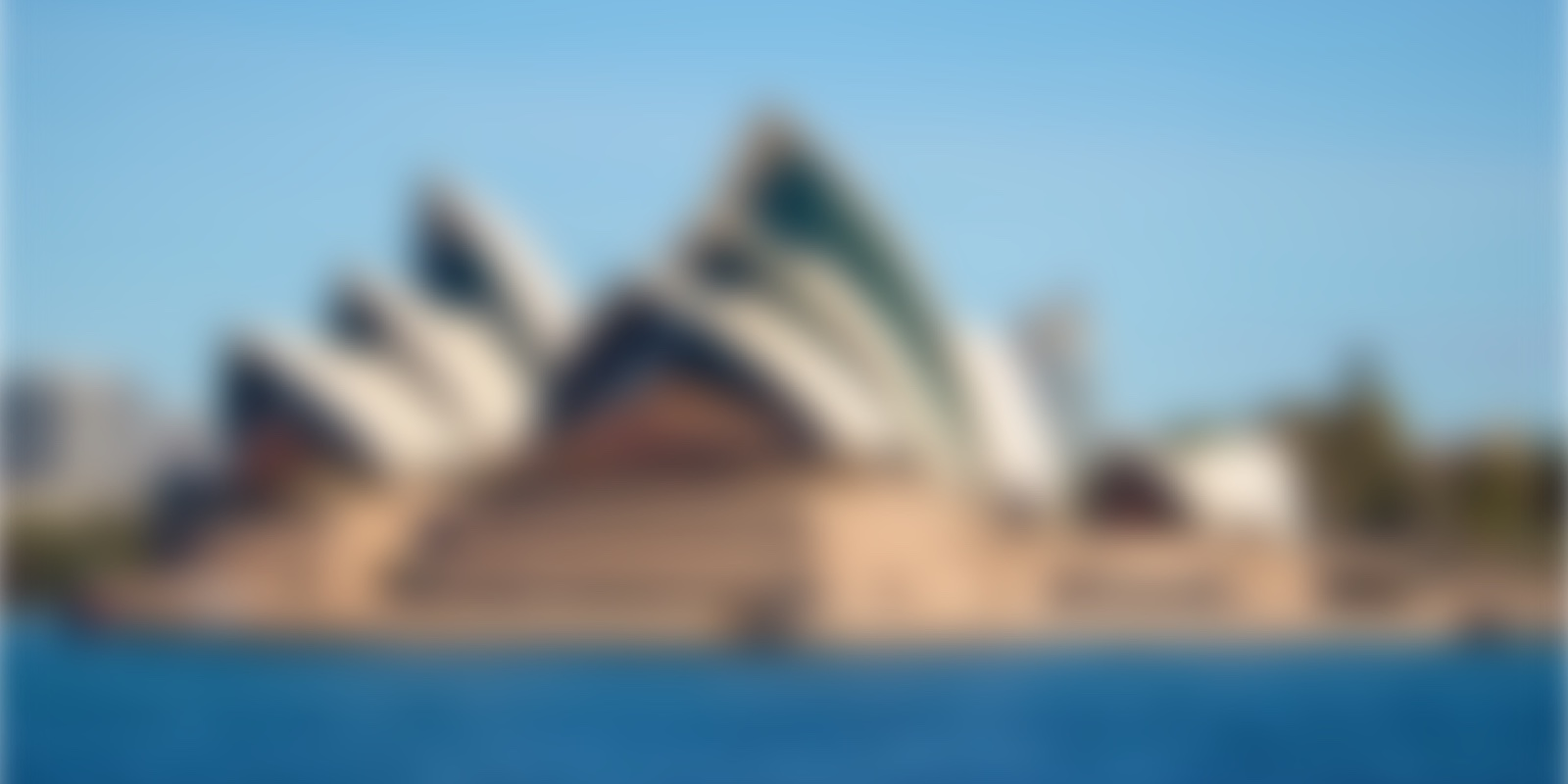 Can you name this blurred landmark?