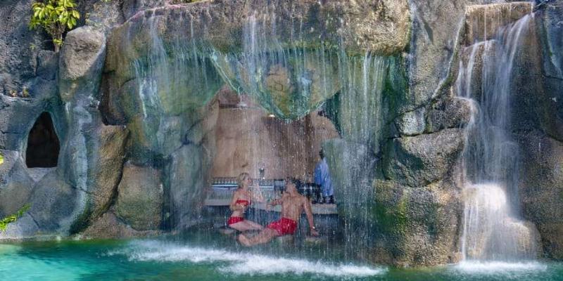 Swim-Up Cave Pool Bar