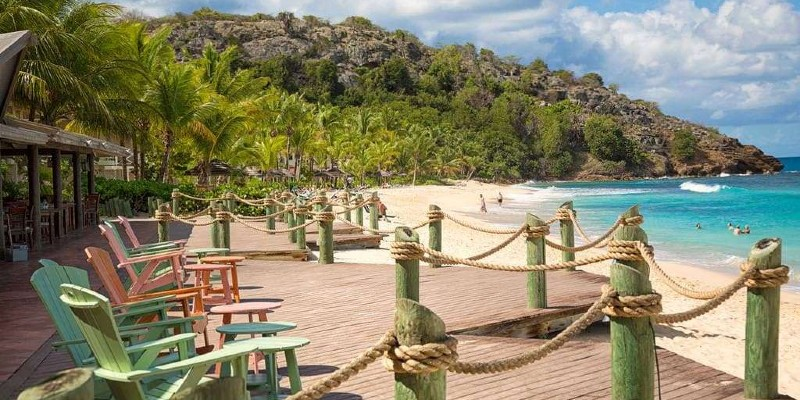 Galley Bay Resort & Spa is a popular beachfront location in Antigua