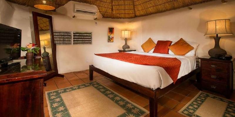 Inside a Gaugin Suite at Galley Bay Resort & Spa