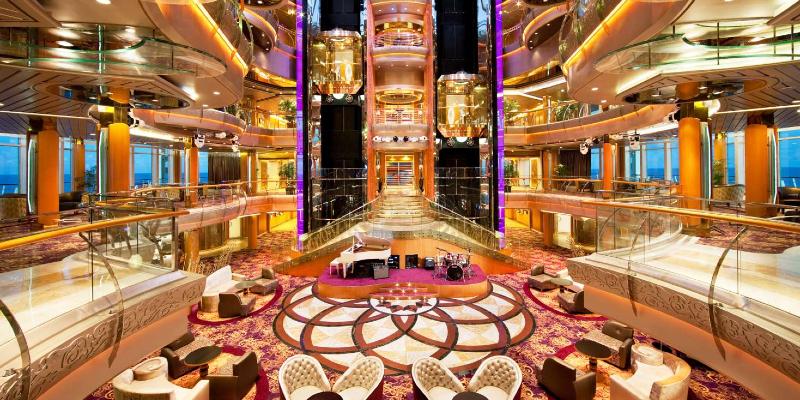 Inside the Rhapsody of the Seas