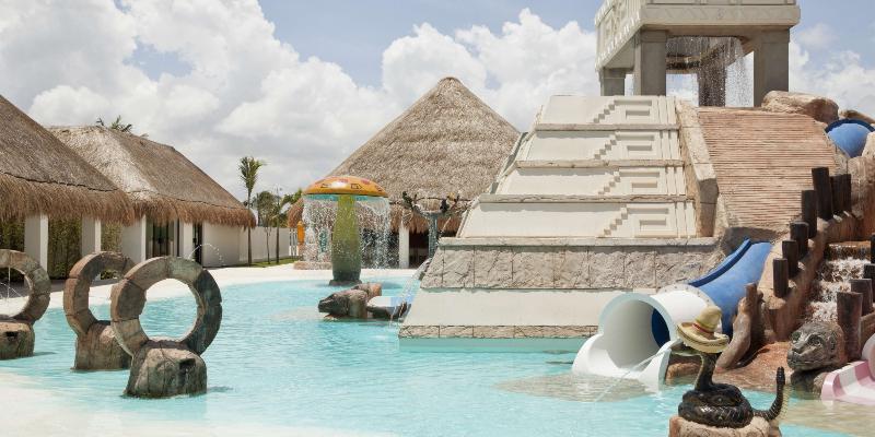 Finest Playa Mujeres Children's Splash Area