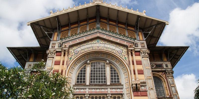 Bibliothèque Schoelcher ( Schoelcher Library). Picture Credit: Toon Laurent