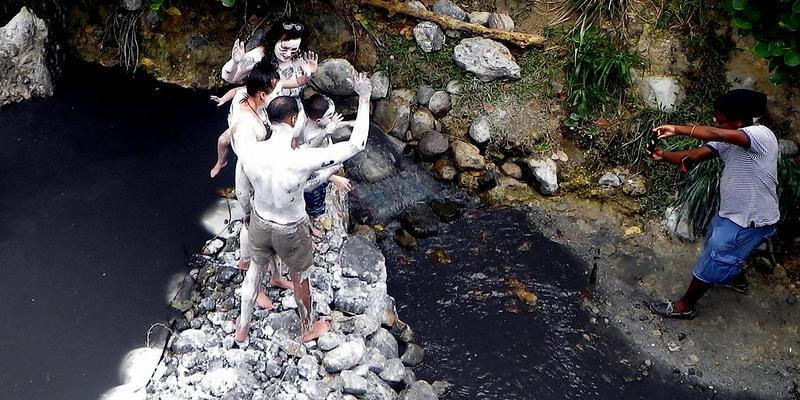 Mud Bathing at Sulphur Springs. Picture Credit: goodharbor