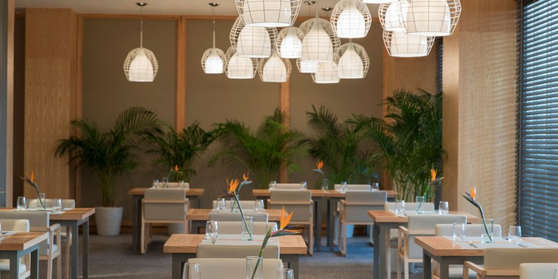 Interior shot of Lupita Steakhouse at Beloved Playa Mujeres by The Excellence Collection