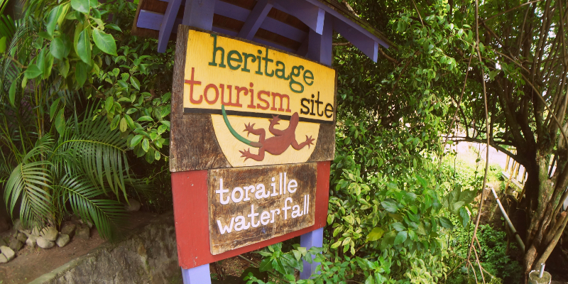 Toraille Watefall is a Heritage Tourism Site. Picture Credit: anax44