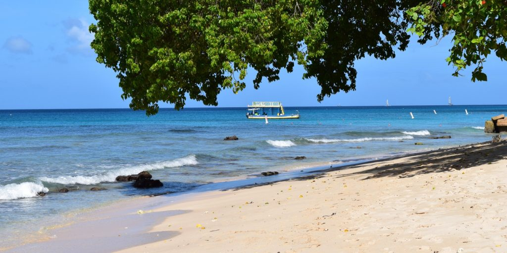 Paynes Beach, Barbados is a magnet for celebrities