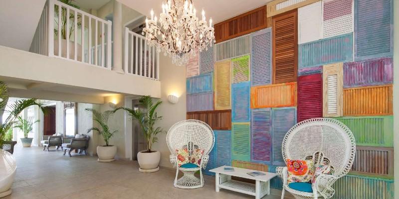 Lobby area at Sugar Bay Barbados