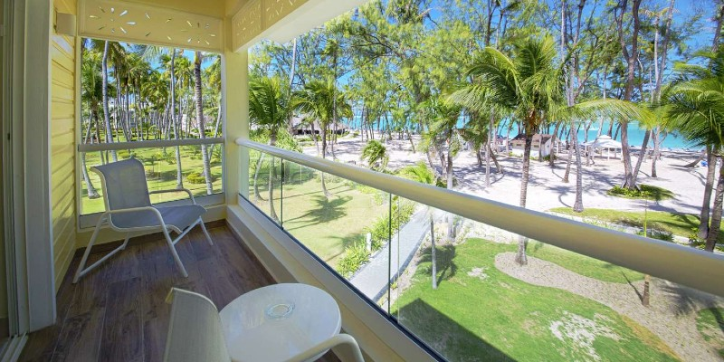 View of the beach from your room at Vista Sol Punta Cana Resort & Spa