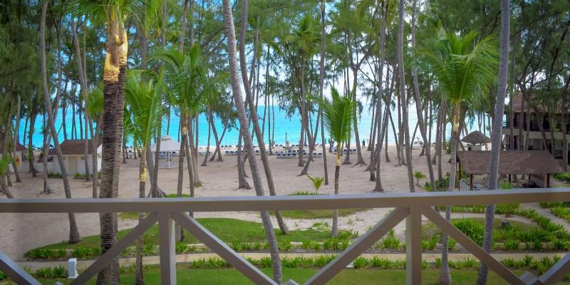 View of Playa Bavaro beach from Vista Sol Punta Cana Resort & Spa