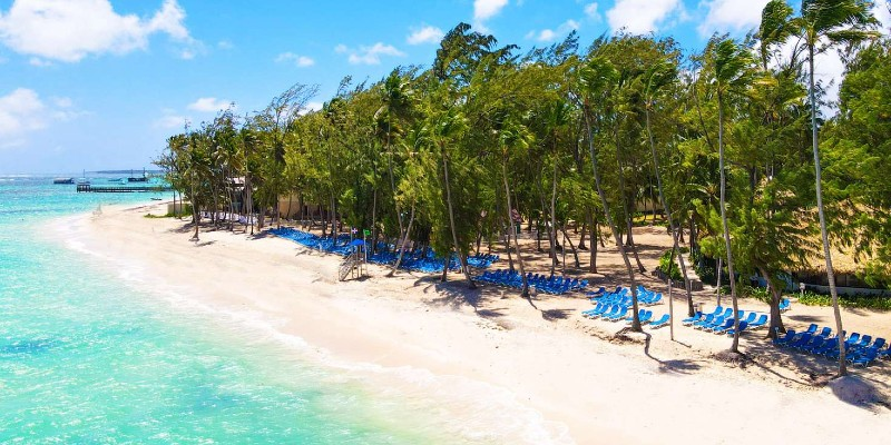 Playa Bavaro beach in Punta Cana