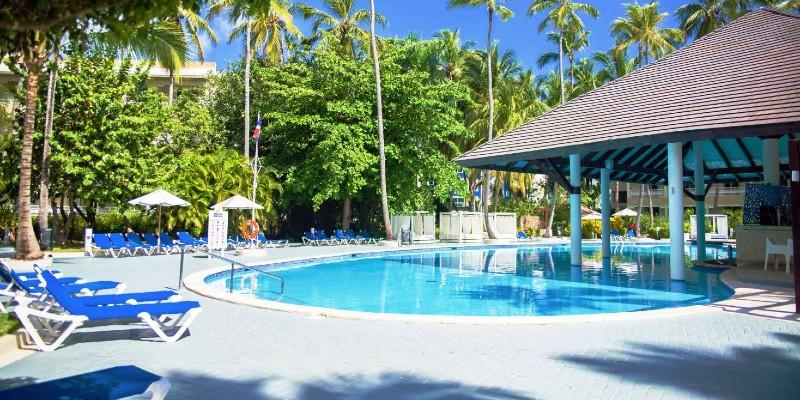 A pool area at Vista Sol Punta Cana Resort & Spa